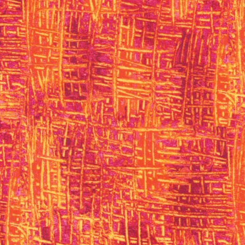 Very Hungry Caterpillar Weave Red Orange Texture