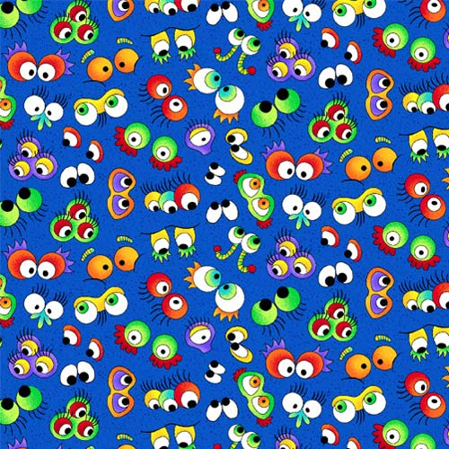 Wild Things Googly Eyes On Blue