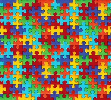 Puzzle Pieces Small Interlocking