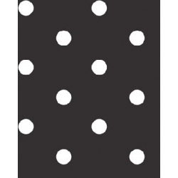 Minkee Tween Polka Dot Black