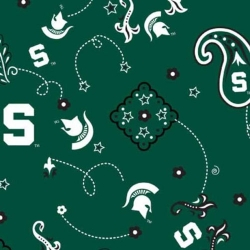 College Bandana Michigan State University