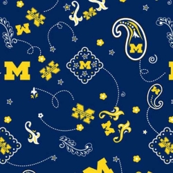 College Bandana University of Michigan