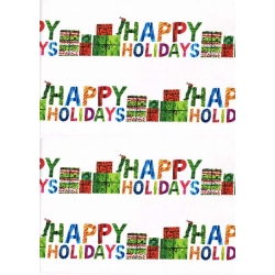Very Hungry Caterpillar Christmas Holiday Stripe