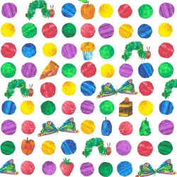 Very Hungry Caterpillar Rows of Dots & Caterpillars