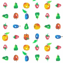 Very Hungry Caterpillar Fruit in Rows