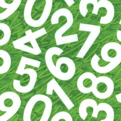 Very Hungry Caterpillar Numbers Green