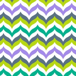 Let's Play Dolls Chevron Lime