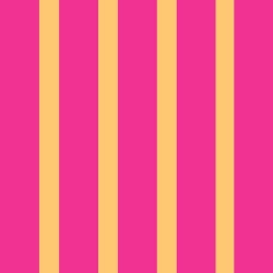 Let's Play Dolls Stripe Pink Orange