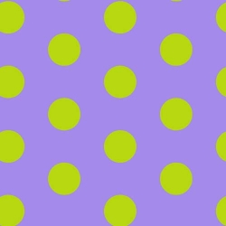Let's Play Dolls Dot Lime Purple