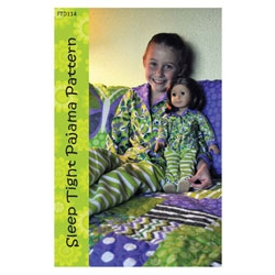 Let's Play Dolls Sleep Tight Pajama Pattern