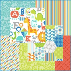 Alfie and Bettie Blue Fat Quarter Bundle