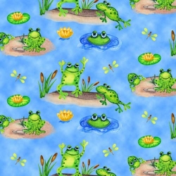 Froggin' Around Pond Pals