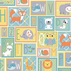 Breezy Baby Patchwork Alphabet
