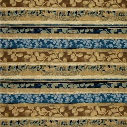 Fernwood Stripe Blue Brown