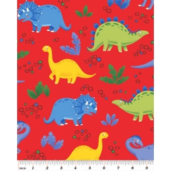 Jungle Club Dinosaur Playground Red