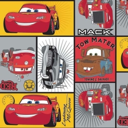 Disney Cars Patchwork