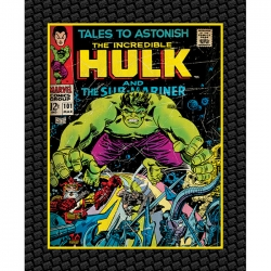 Marvel Comics Incredible Hulk Panel