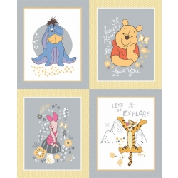 Winnie the Pooh Characters Panel