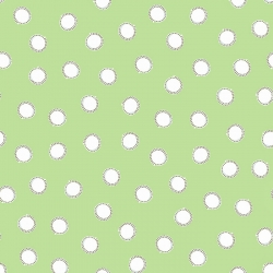 Guess How Much I Love You 2018 Dots on Green