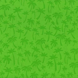 Flamingo Road Palm Trees Tonal Green