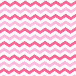 Flamingo Road Chevron Stripe Pink