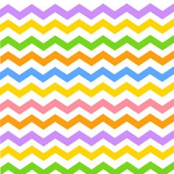 Flamingo Road Chevron Stripe Tropical