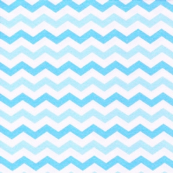 Flamingo Road Chevron Stripe Blue