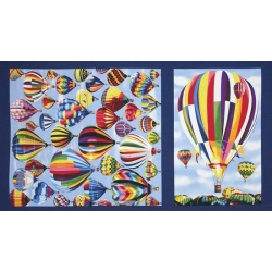 Hot Air Balloons Panel