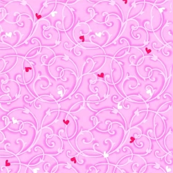Heart & Soul Vines Light Pink