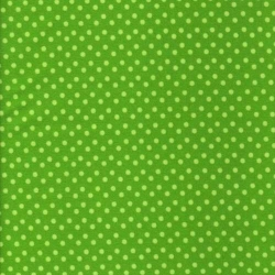 What a Hoot Dots Green FLANNEL