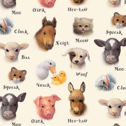 Animal Friends Farm Animal Sounds Cream