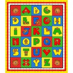 Alpha-Bears Alphabet Panel