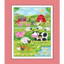 Best Friends Farm Fabric Panel