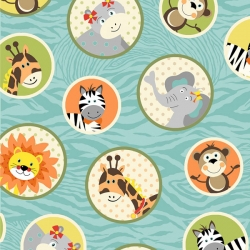 Bungle Jungle Animals in Circles