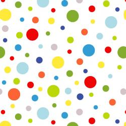 Celebrate Summer Dots on White