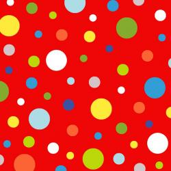 Celebrate Summer Dots on Red
