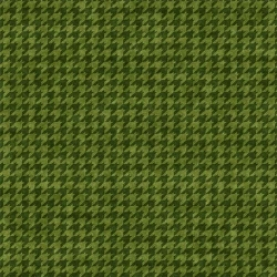 Do You See What I See? Houndstooth Green