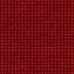 Do You See What I See? Houndstooth Red