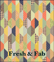Fresh & Fab Fabric Quilt Kit
