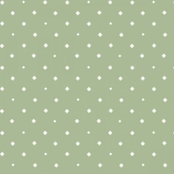 Fresh & Fab Dots & Diamonds Sage