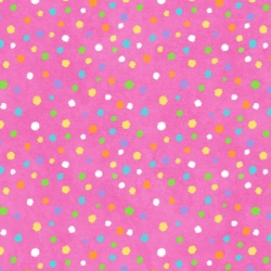 Hippity Hop Dots on Pink