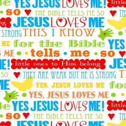 Jesus Loves Me Lyrics Multi