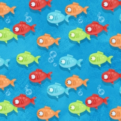 Side by Side Fish Fabric