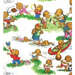 Berenstain Bears Busy Activities on White