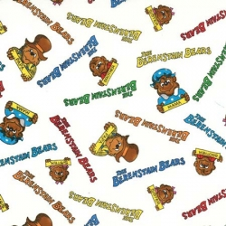 Berenstain Bears Names on White