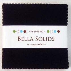 Moda Bella Solid Charms Black