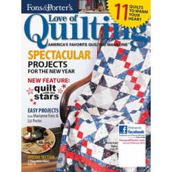 Love of Quilting Magazine January February 2012
