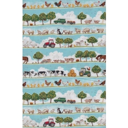 Farm Small Scenic Stripe