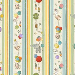 City Hoppers Floating Animals Stripe