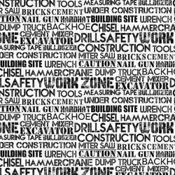 Construction Zone Words